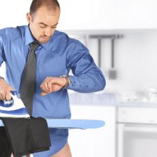 Как правильно гладить брюки со стрелками?