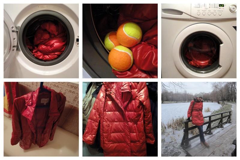 Как стирать пуховик в стиральной машине, чтобы пух не сбивался?