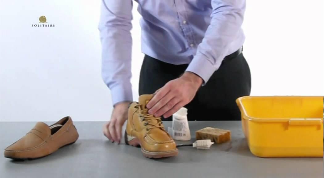 Как ухаживать за обувью из нубука?