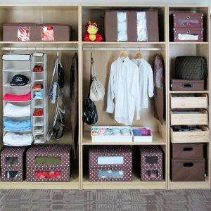 Идеи для хранения вещей в шкафу