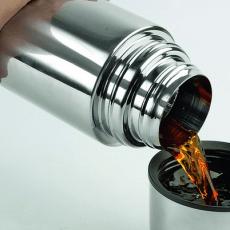 Как очистить термос внутри и снаружи?