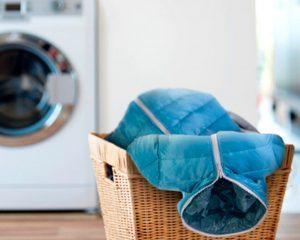 Как высушить пуховик после стирки?