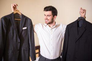 как почистить пиджак в домашних условиях?