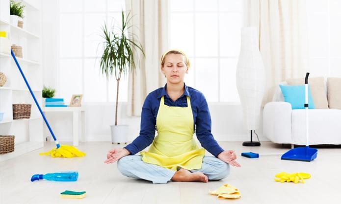 Как заставить себя убраться в квартире?