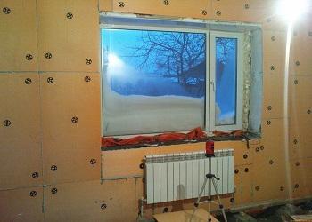 Теплоизоляция комнаты
