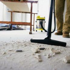 Как убрать строительную пыль после ремонта?