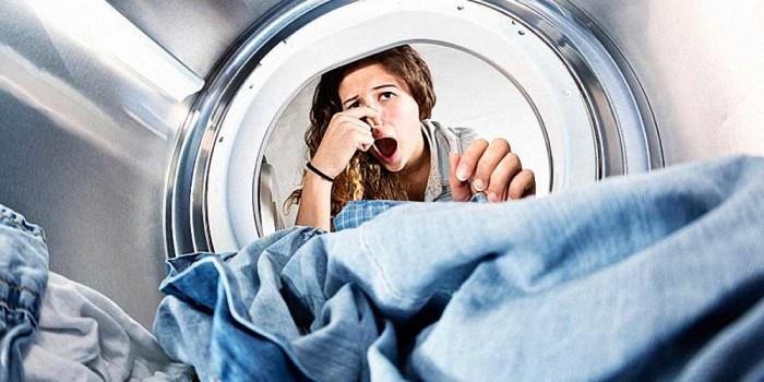 Как убрать запах из стиральной машины автомат?