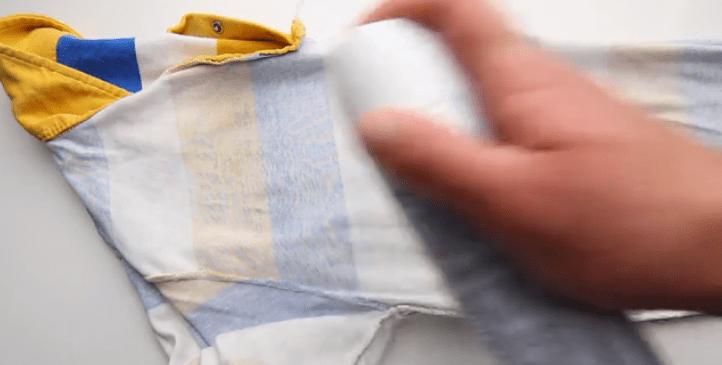 Как правильно гладить футболку поло и ее воротник?