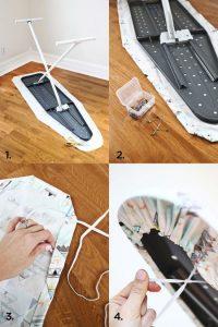 Схема шитья чехла для глажки