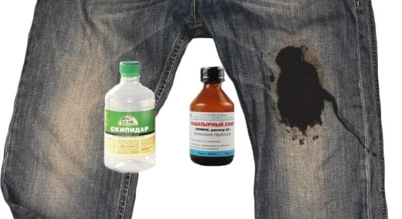 Чем отстирать машинное масло с одежды в домашних условиях?