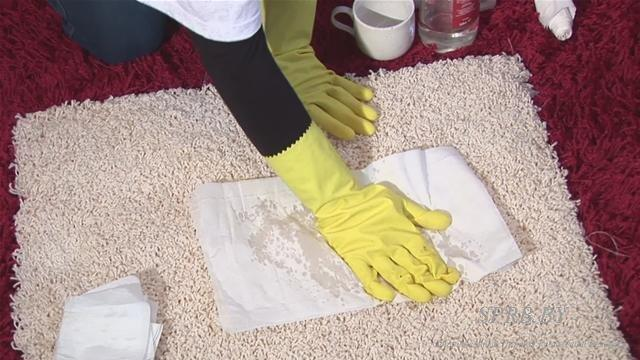 Как почистить палас в домашних условиях?