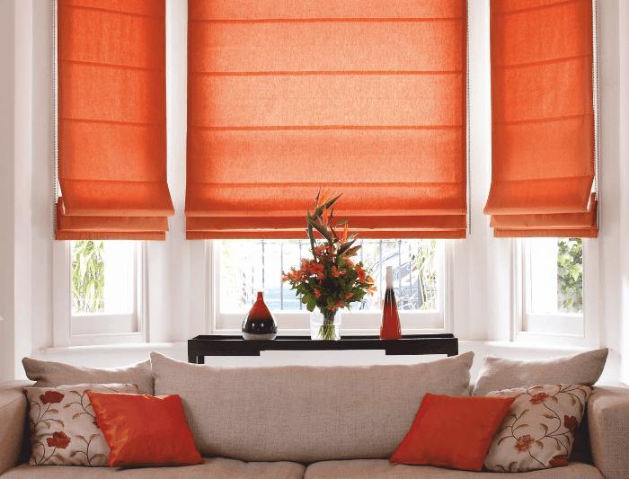 Как стирать рулонные шторы закрытого типа из ткани?
