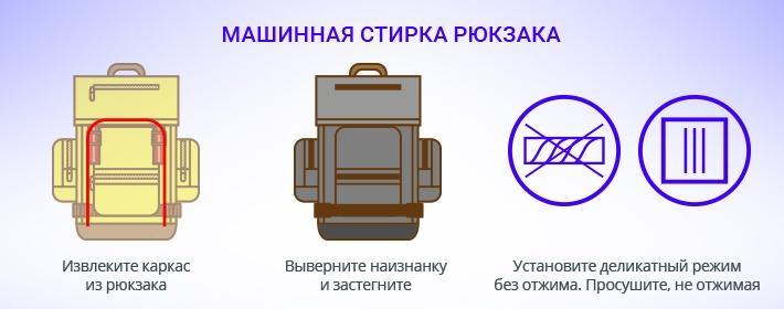 Как постирать школьный рюкзак в стиральной машине в домашних условиях?