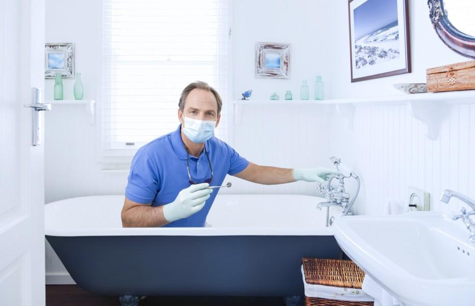 Восстановление эмали на чугунной ванне своими рукам
