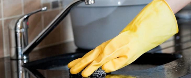 Чем чистить раковину из искусственного камня на кухне?