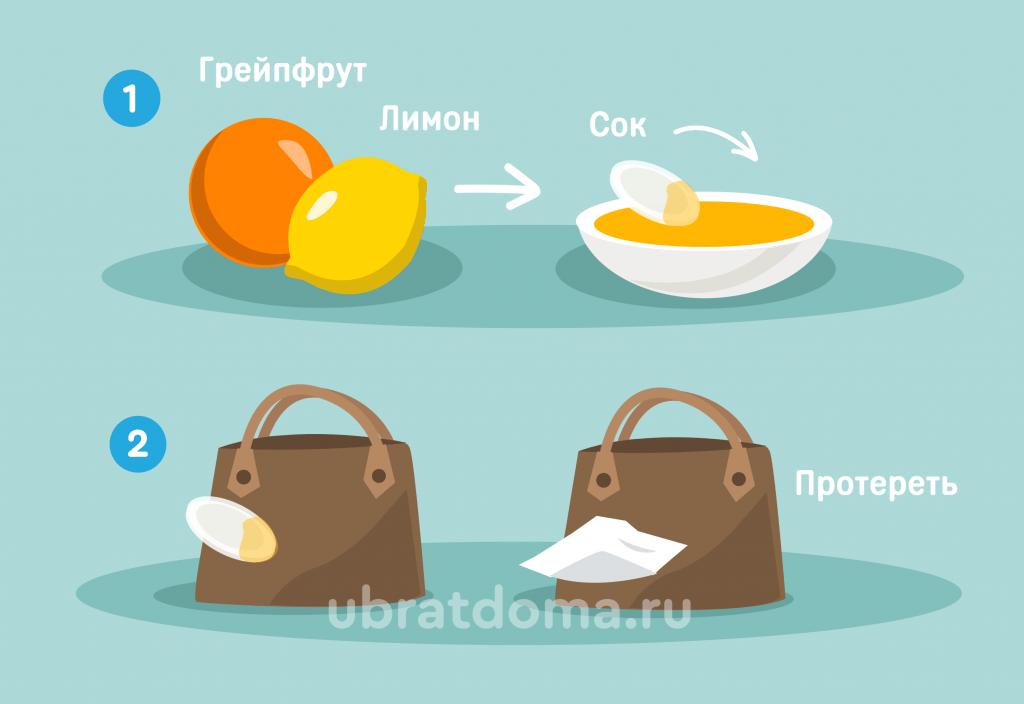 Сок грейпфрута и лимона