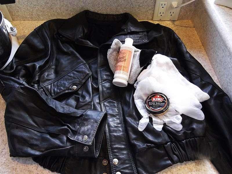 Чем можно обновить кожу на куртке или пальто?