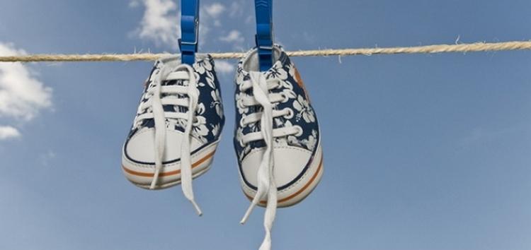 Как высушить обувь после машинной стирки?