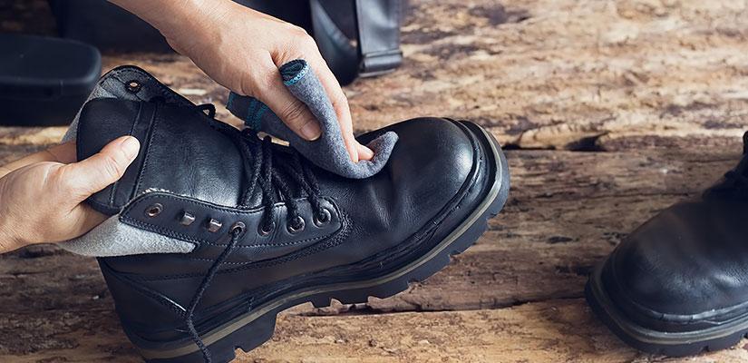 Средства для ухода за обувью из кожи
