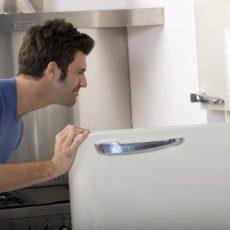 Как убрать запах в морозильной камере?