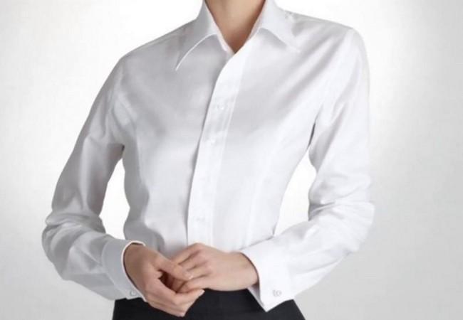 Как отбелить белую блузку в домашних условиях, если она посерела?