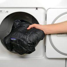 Как стирать зимнюю парку в стиральной машине автомат?