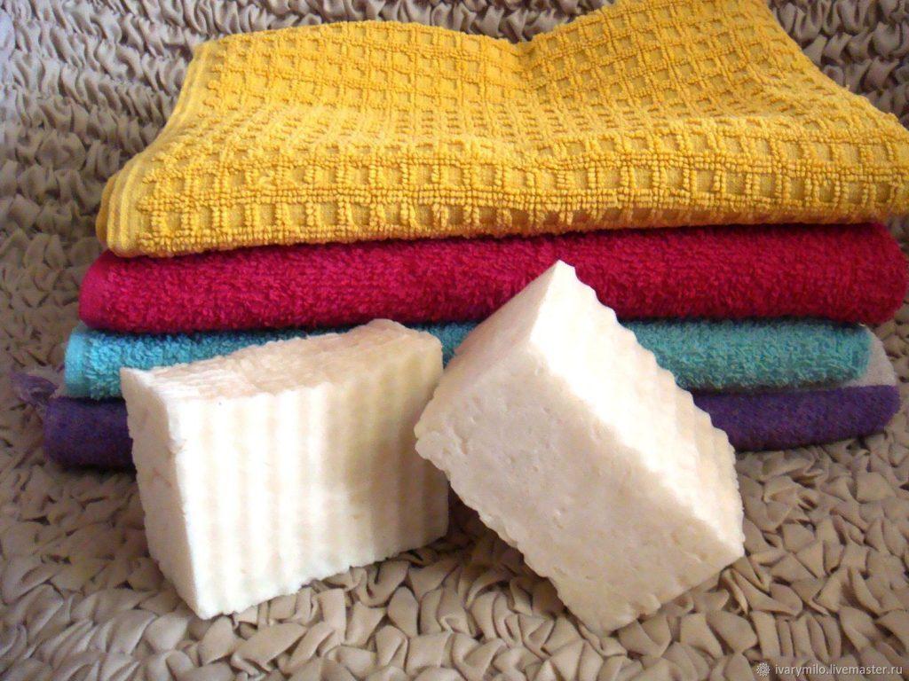 Стирка полотенец хозяйственным мылом