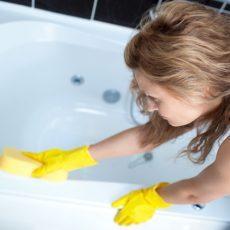Как отбелить ванну от желтизны в домашних условиях?