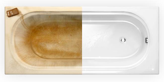 Как подготовить поверхность ванны к чистке?
