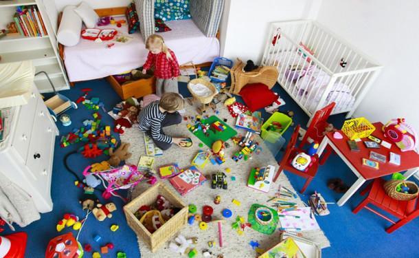 Уборка за собой игрушек