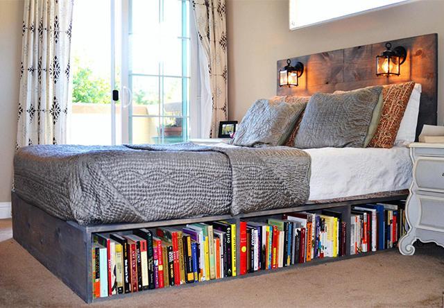 Хранение книг в маленькой квартире