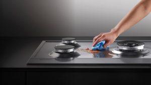Как почистить газовую плиту от нагара в домашних условиях?