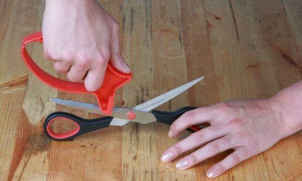 Как заточить ножницы своими руками?