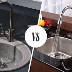 Какая мойка лучше для кухни нержавейка или искусственный камень?