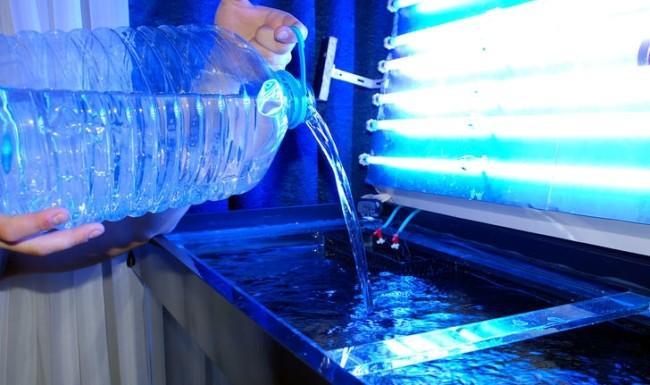 Вода для аквариума