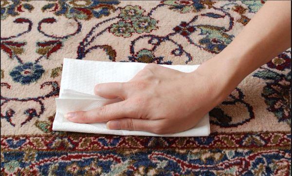 Как подготовить ковер к чистке?
