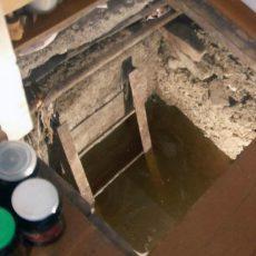 Как высушить погреб в гараже и избавиться от сырости?
