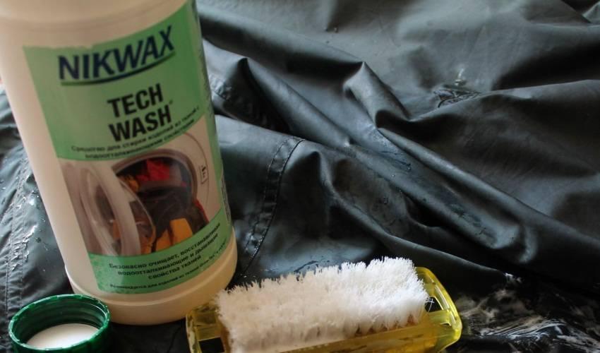Как почистить тент вручную?