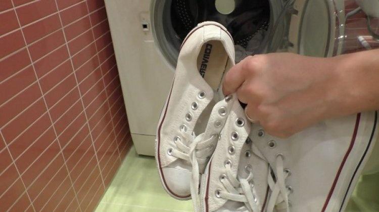 Кеды в стиралку