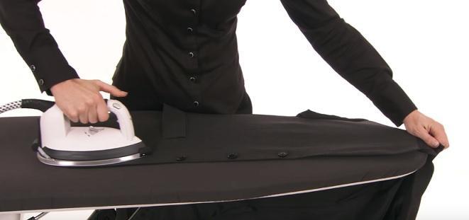 Правила глажки пиджака утюгом