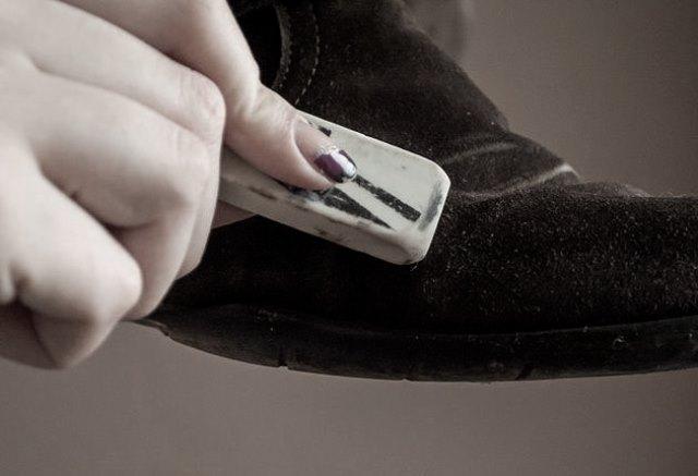Стирательная резинка для туфлей