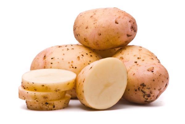 Сырым картофелем