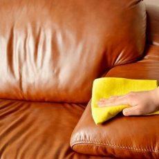 Как оттереть ручку с кожаного дивана, кожзама и ткани?