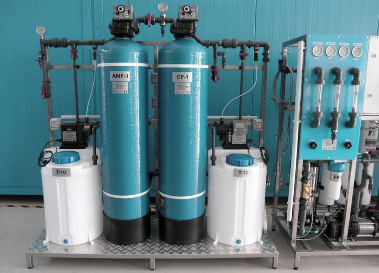Система аэрации воды