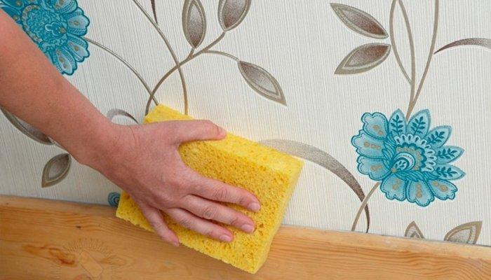 Как мыть моющиеся обои в домашних условиях?