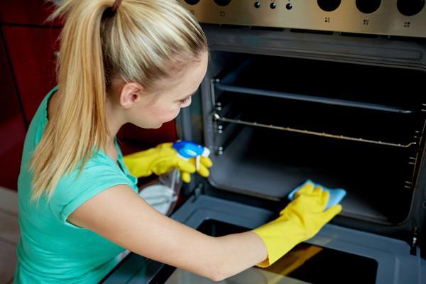 Методы очистки духовки