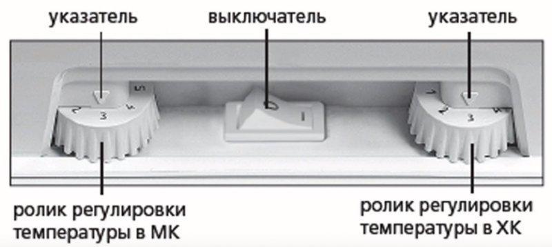 Как выставить температуру в холодильнике Атлант?
