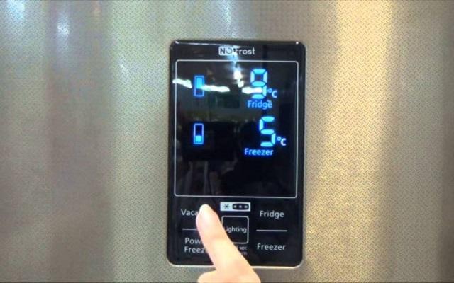 Как выставить температуру в холодильнике Самсунг?