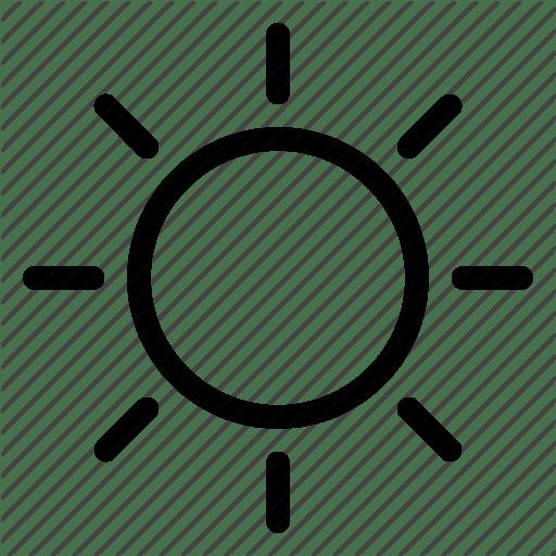Солнце - значок