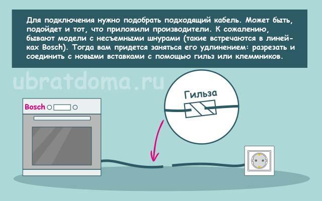 Выбор провода для подключения